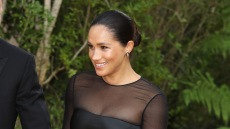 Meghan Markle at the London Premiere of 'The Lion King'