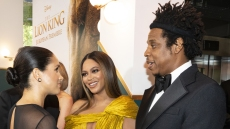 Meghan Markle, Beyonce and Jay-Z at 'The Lion King' Premiere