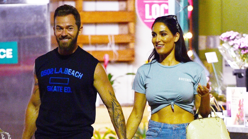 Nikki Bella and Artem Chigvintsev Look so in Love While Late-Night Grocery Shopping in L.A.