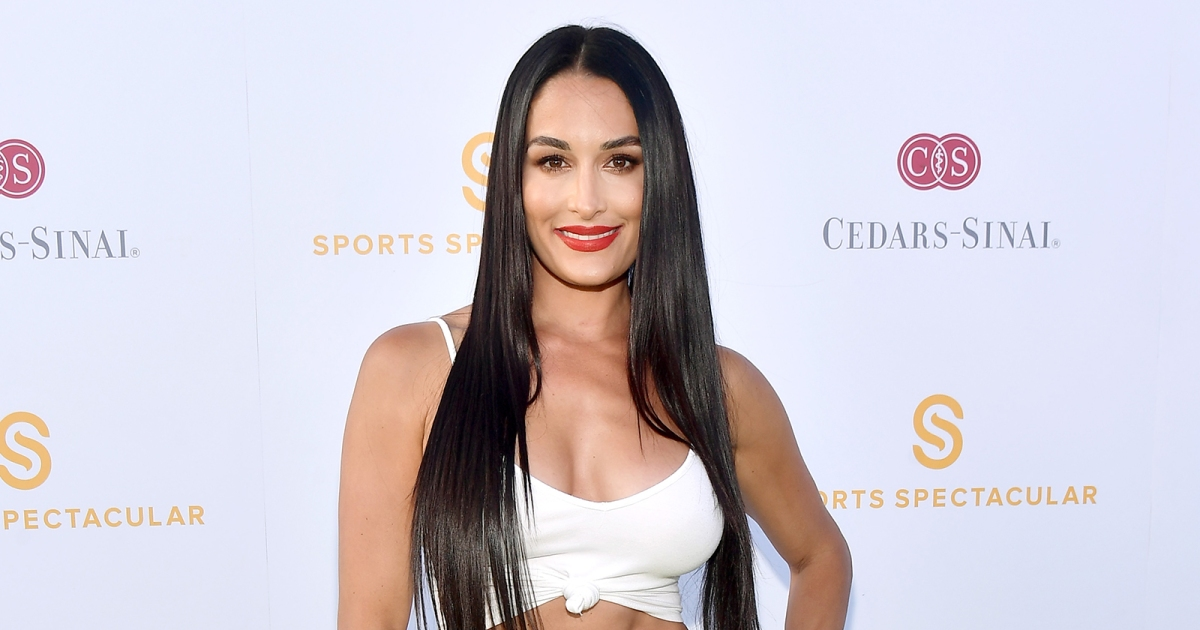 Nikki Bella Shows Off Abs at Cedars-Sinai and Sports