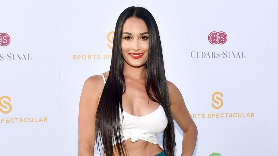 Nikki Bella Flaunts Abs