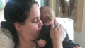 Amy Schumer Sister Kim Caramele and Baby Gene