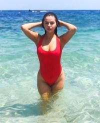 Selena Gomez Krahs Swim Punta Mita Bachelorette