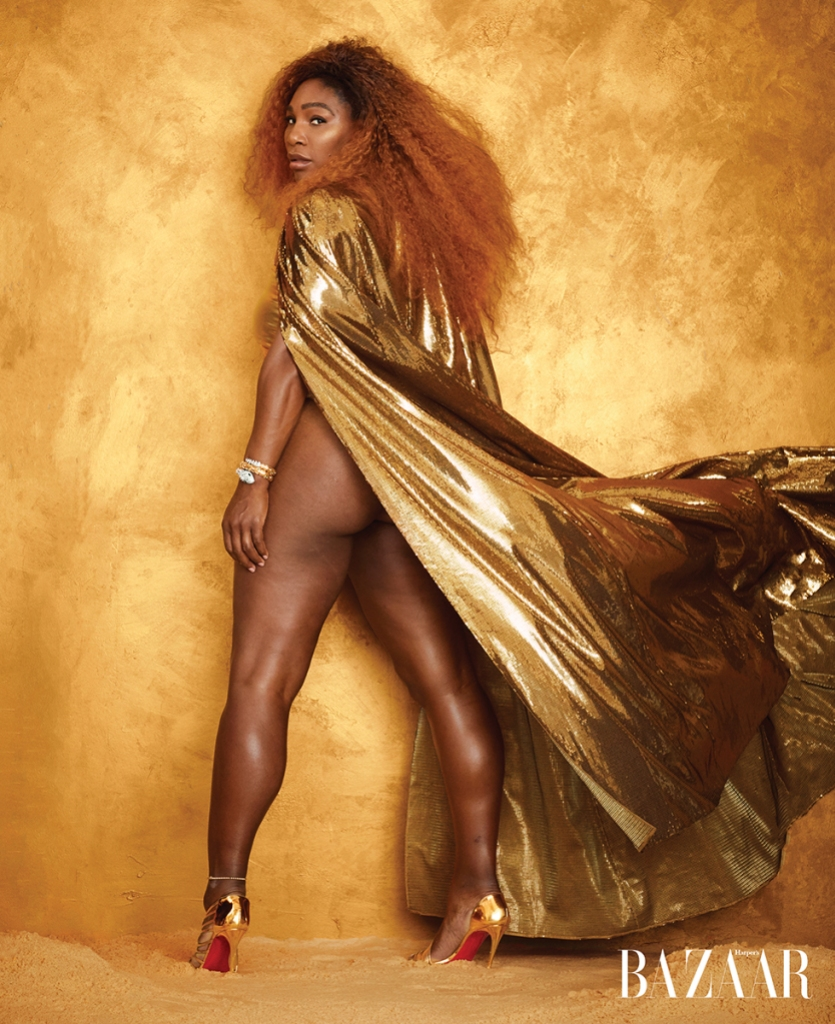 Serena Williams Unretouched Photos
