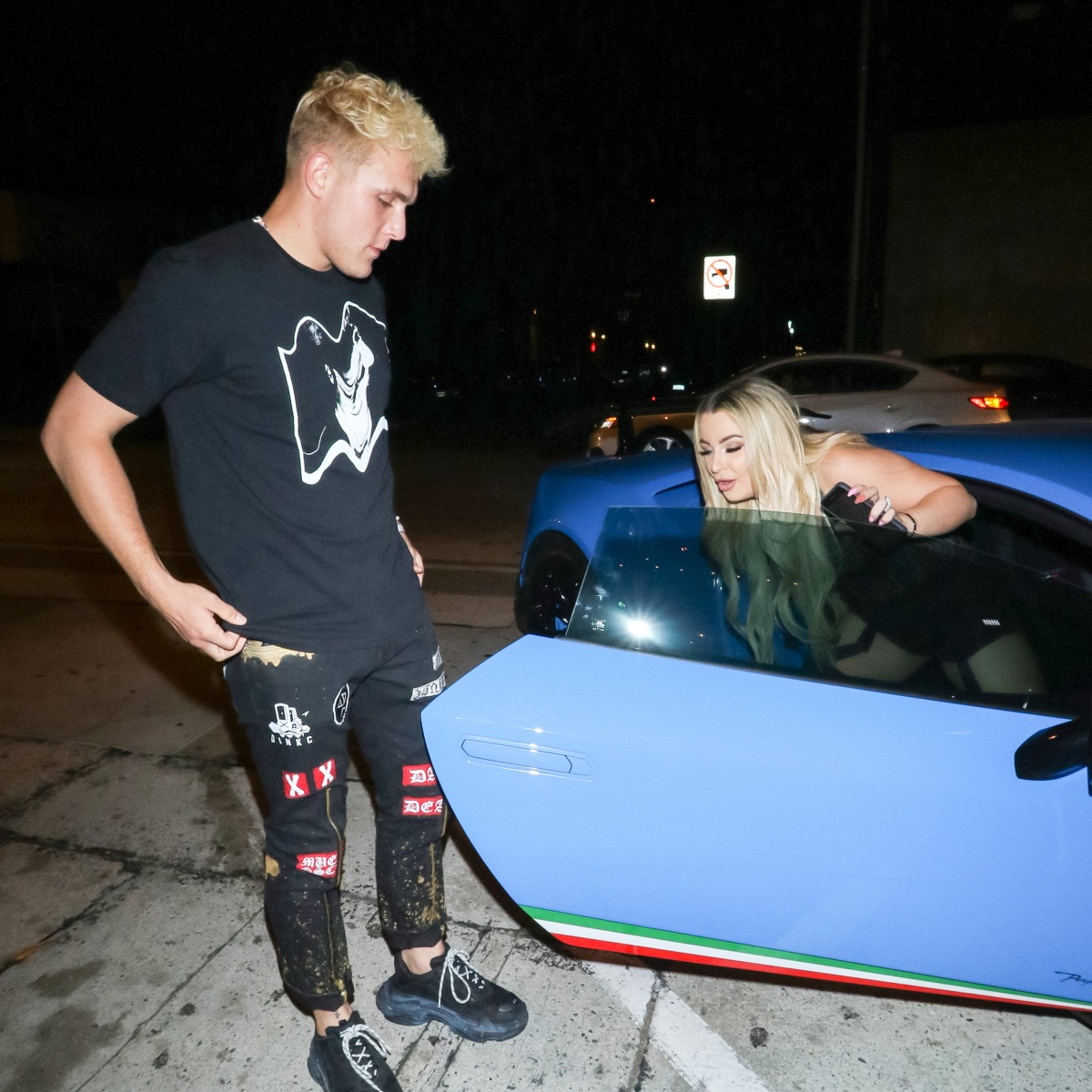 Tana Mongeau and Jake Paul Step Out for a Sweet Date Night Just Days Ahead of Their Las Vegas Wedding