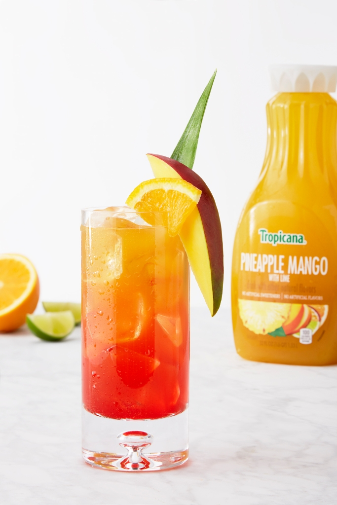 Tequila Sunset Drink for Wells