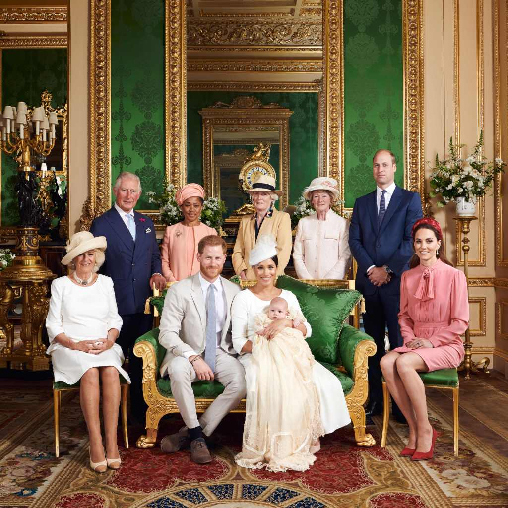 Royal Baby Archie Christening Group Photo