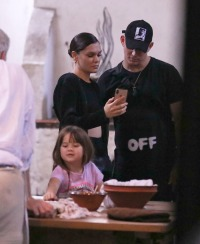 Channing Tatum, Everly Tatum and Jessie J