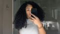 Jordyn Woods Natural Hair