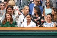 Kate Middleton and Meghan Markle at Wimbledon