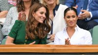 Kate Middleton and Meghan Markle at Wimbledon