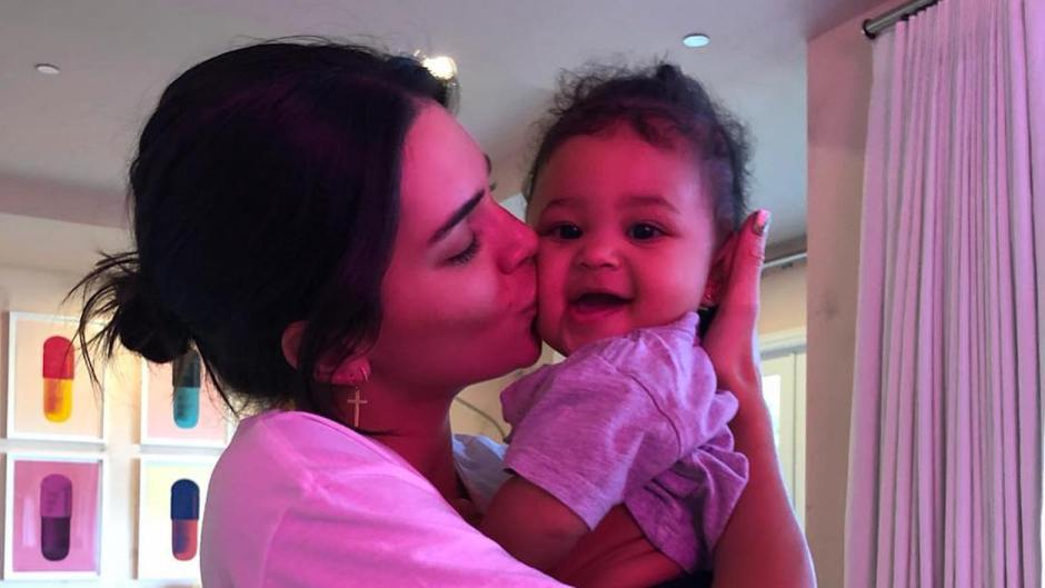 Kendall Jenner and Stormi Webster Cuddle Kendall Jenner Has Baby Fever