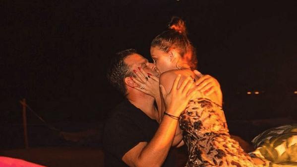 Lala Kent Kissing Fiance Randall Emmett Under Fireworks