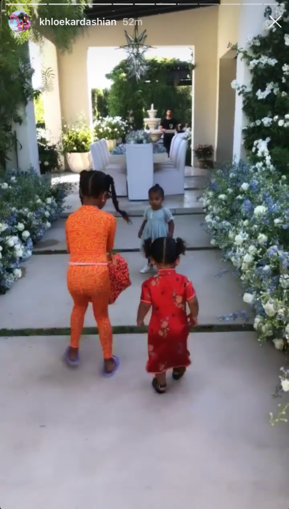 North West, True Thompson and Chicago West