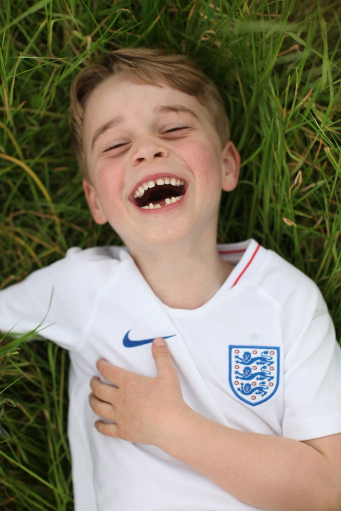 Prince George Birthday Photoshoot