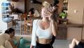 Anastasia Karanikolaou Taking a Mirror Selfie