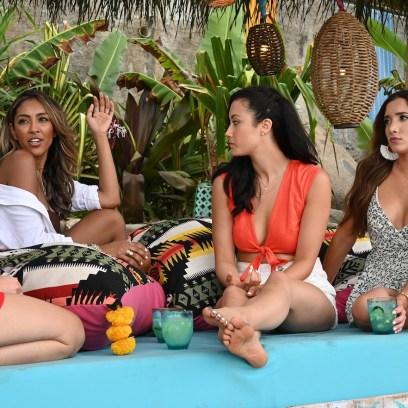 Bachelor in Paradise cast TAYSHIA ADAMS, SYDNEY LOTUACO, NICOLE LOPEZ-ALVAR engagements