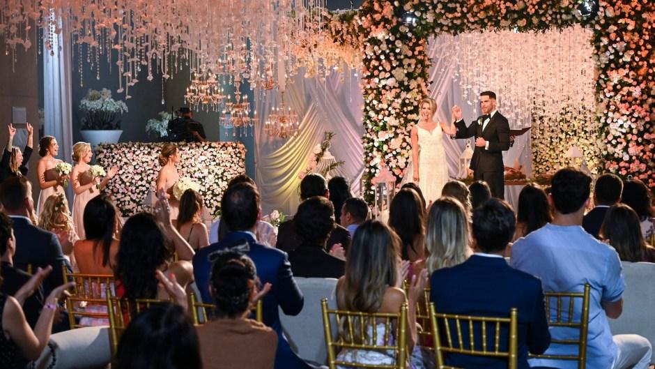 KRYSTAL NIELSON, CHRIS RANDONE Bachelor in Paradise wedding with chris harrison