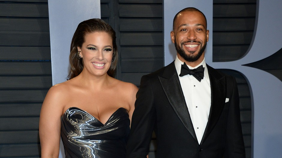 Ashley Graham and Justin Ervin Vanity Fair Oscars Afterparty