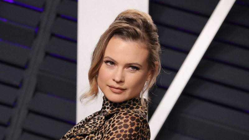 Behati Prinsloo Shares Rare Selfie With Daughters Dusty and Gio