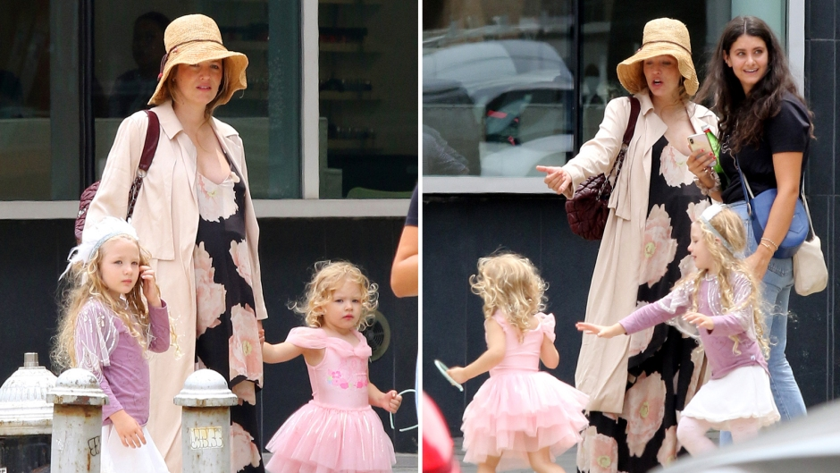 Blake Lively Baby Bump Daughters