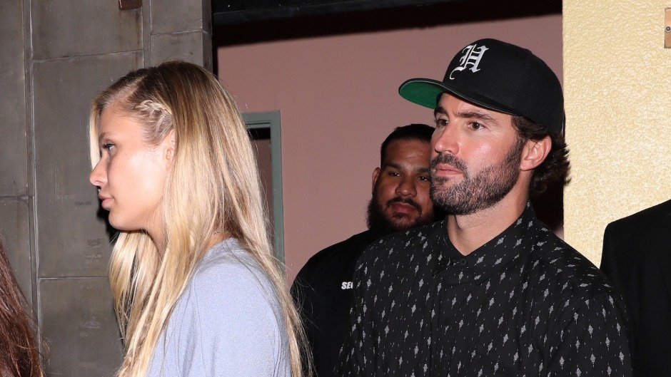Brody Jenner Wearing All Black With Josie Canseco at His Birthday Party
