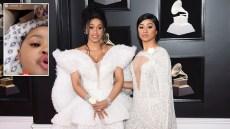 Cardi B Kulture Twinning Hennessy Carolina IG