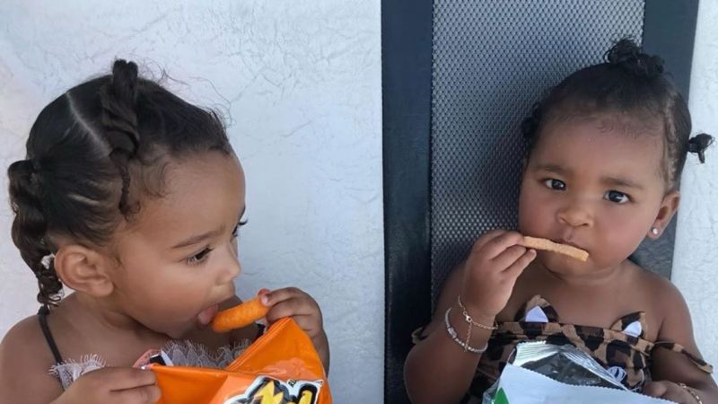 Khloe Kardashian Shares Photos of True and Chicago on Vacation