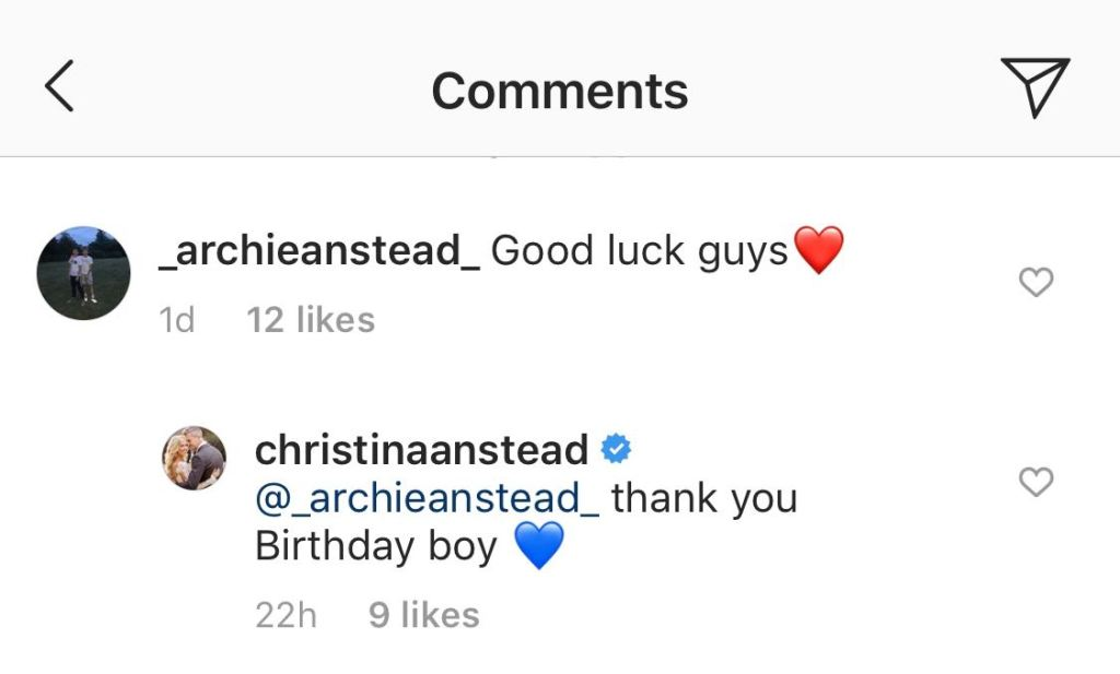 Christina Anstead's Instagram Comments