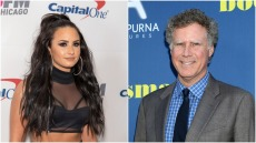 Demi Lovato and Will Ferrell