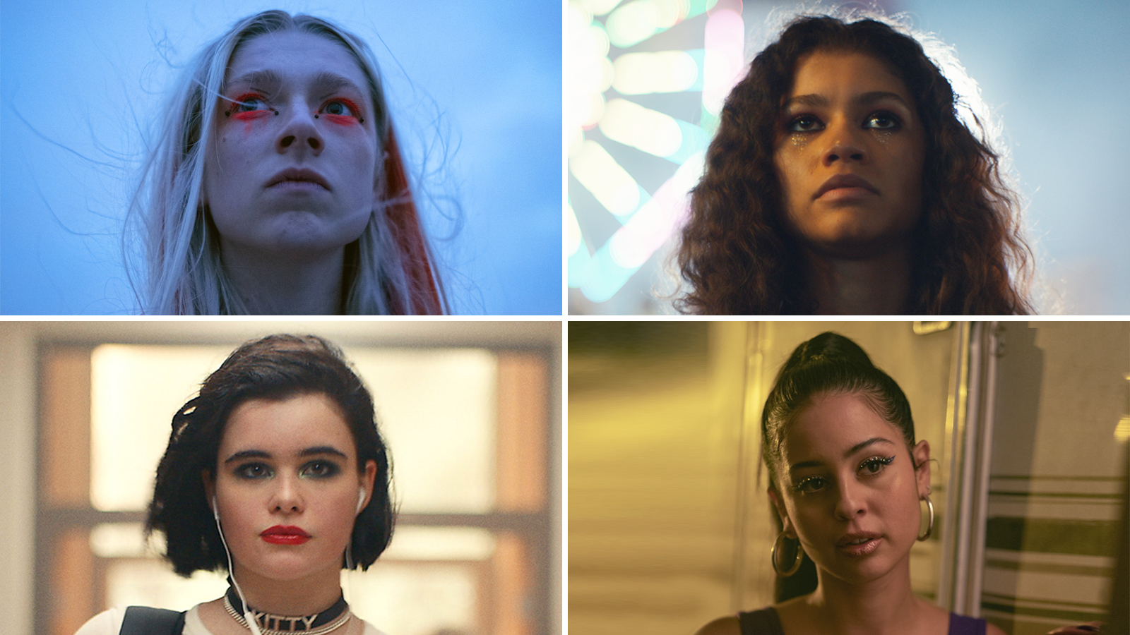 Euphoria Inspired Makeup Looks Like Rue Lexi And Jules