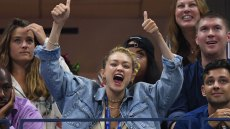 Gigi Hadid Gets A Little Rowdy(Again) At The US Open