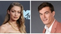 Gigi Hadid and Tyler Cameron side by side PDA at MTV VMAs afterparty