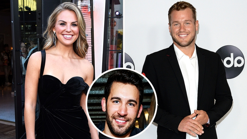 Hannah Brown and Colton Underwood Respond to Derek Peth Potentially Being the Next Bachelor