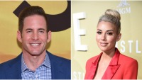 Heather Rae Young and Tarek El Moussa Side By Side