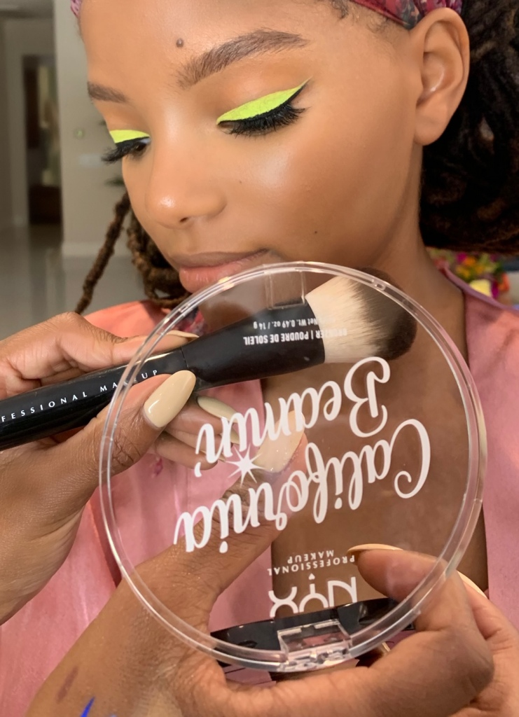 Chloe x Halle NYX makeup Teen Choice Awards
