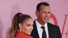 Jennifer Lopez and Alex Rodriguez at the CFDA Fashion Awards