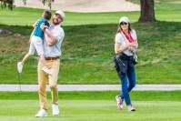 Justin Timberlake, Jessica Biel and Son Enjoy Golf Outing