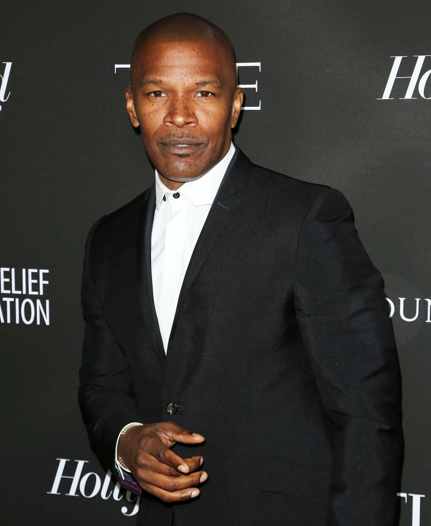 Jamie Foxx at a Red Carpet Event Katie Holmes and Suri Cruise Step Out Following Jamie Foxx Split