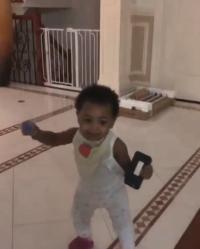 Cardi B's Daughter Kulture Dancing