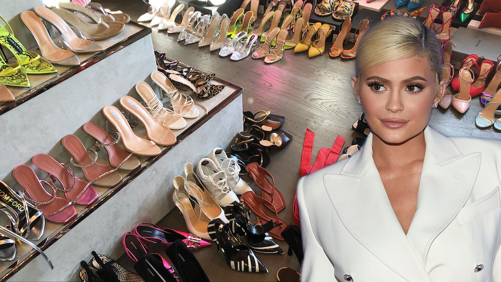 Kylie Jenner's Shoe Collection Will Even Make Carrie Bradshaw Jealous — Take a Tour of Her Closet!