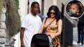 Kylie Jenner Travis Scott shopping Stormi