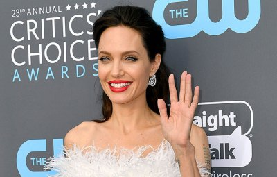 Angelina Jolie Left Handed