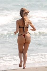 Farrah Abraham Butt Injections in Thong Bikini