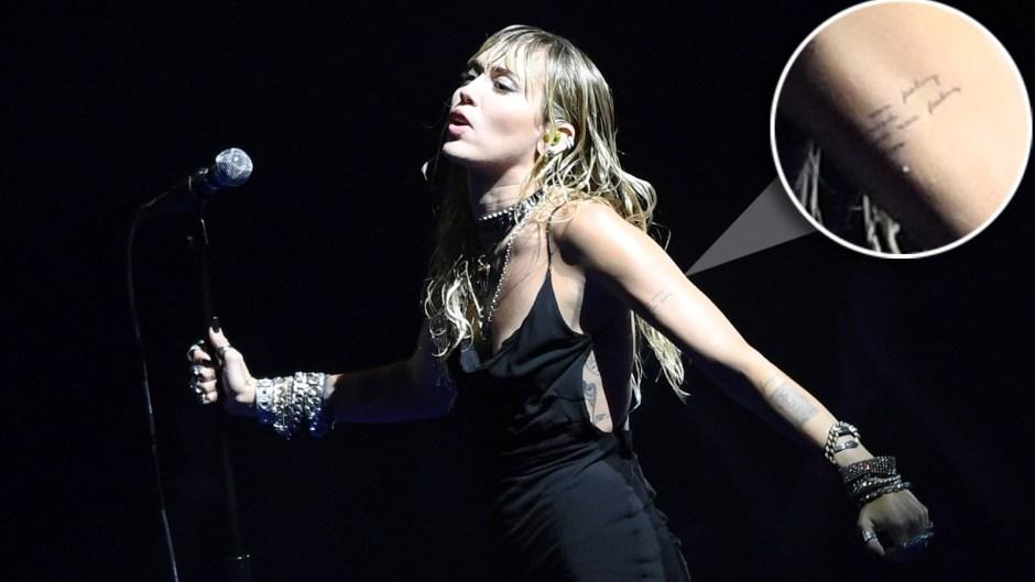 Miley Cyrus New Tattoo Split Liam Hemsworth VMAs 2019