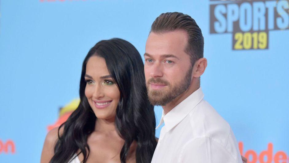 Nikki Bella and Artem Chigvintsev'