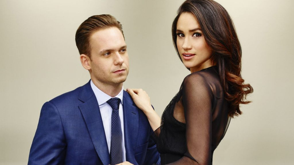 Patrick J. Adams and Meghan Markle on 'Suits'