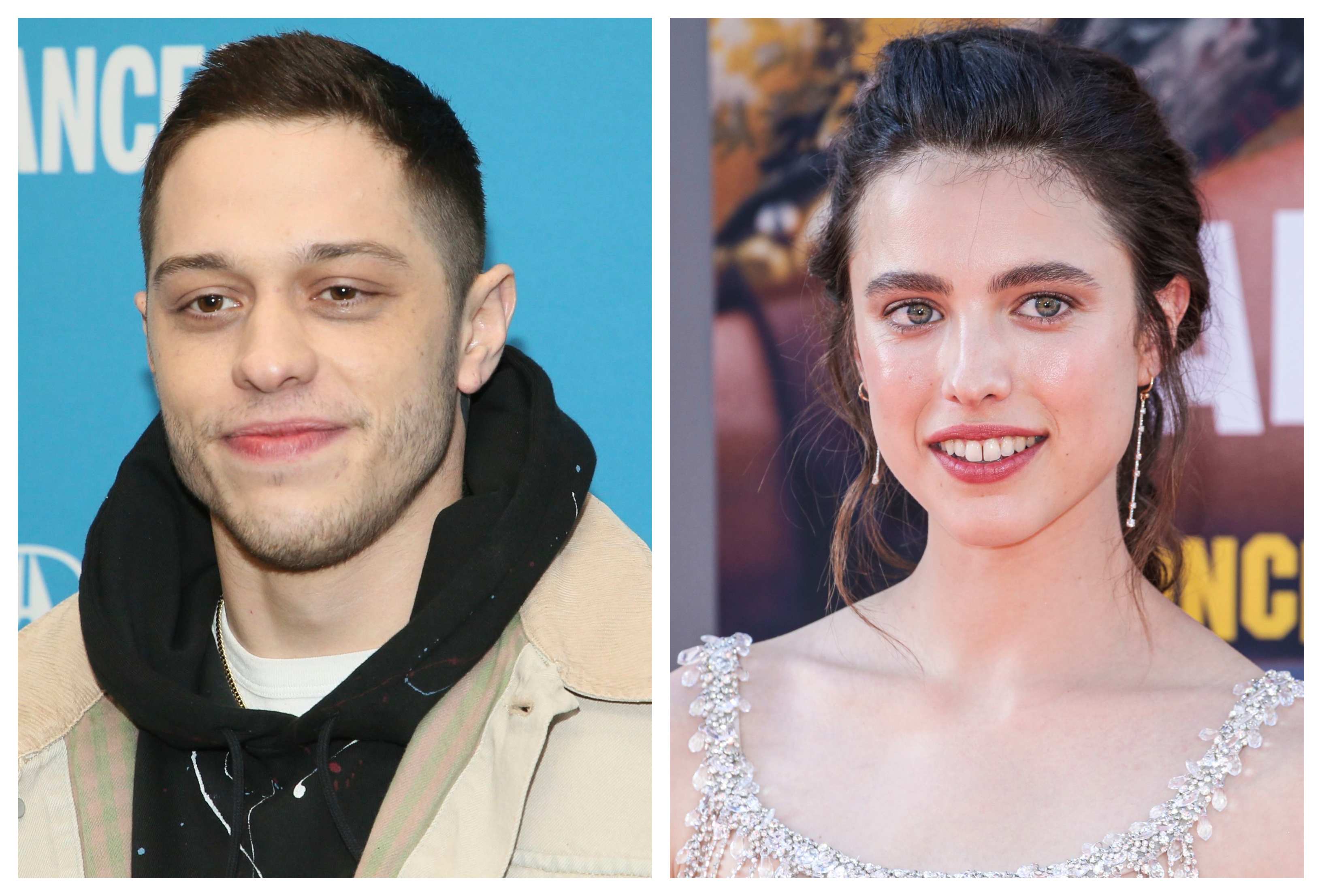 Pete Davidson S Girlfriend Margaret Qualley Is Excited About Him