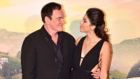 Quentin Tarantino and Wife Daniella Pick Smile at Each Other