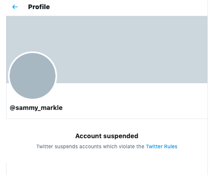 Samantha Markle Twitter Account Suspended